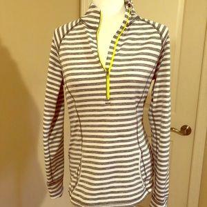 Lucy Jog for Joy half zip pullover
